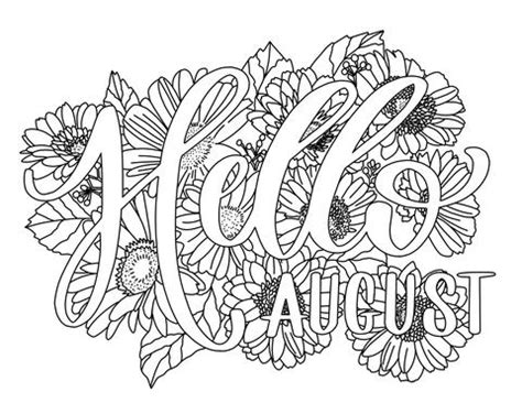 august coloring page printable haven