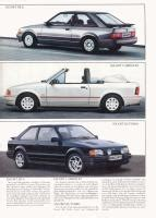 manual cars for sale 1987 ford escort electronic valve timing 1987 ford escort brochure