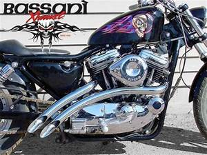 Chrome Bassani 2 U0026quot  Radial Sweepers Exhaust Pipes 1986