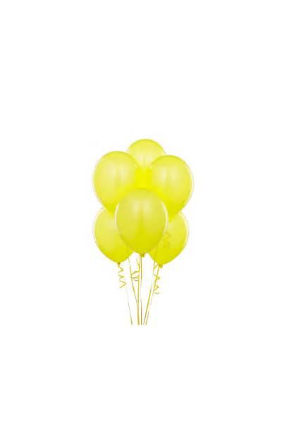 Yellow Balloons Clipart Balloon Party Clip Happy