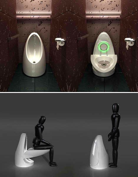 cool water closet water saving all in one integrated toilets of the future