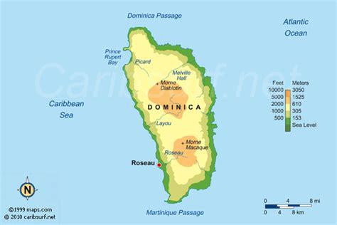 DOMINICA MAPS