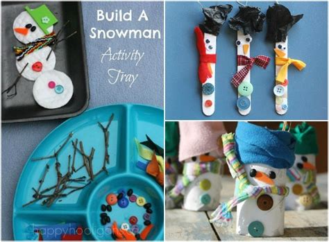 snowman activities for preschool 25 snowman crafts activities and treats happy hooligans 242