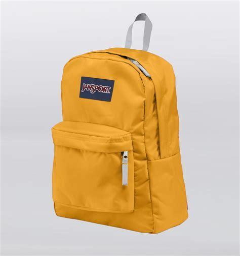 JanSport Superbreak Backpack Beez Yellow Rushfaster