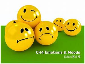 Ch4 emotions & moods