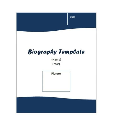 Personal Bio Template Free by 45 Free Biography Templates Exles Personal