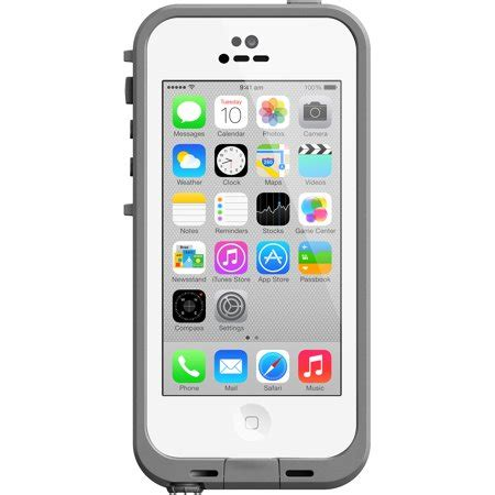 walmart iphone 5c iphone 5c lifeproof apple iphone fre series white