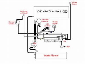 Maf Intake Sensor  Afm  - 4age 20v Swap
