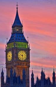 Big Ben London at Sunset