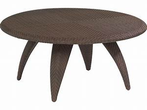 Whitecraft bali wicker 40 round woven top coffee table for 40 inch round coffee table