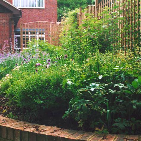 cottage garden planting scheme design for london suburban garden modern cottage style planting scheme raised flowering beds