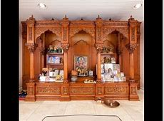 Latest Wooden Pooja Room DesignsPuja Mandir Designs YouTube