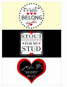 valentines beer labels print on 85 x 11 label paper cut With beer label paper for printer