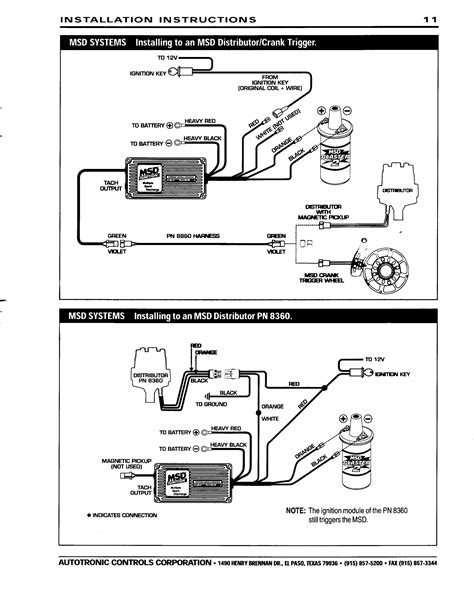 msd 6425 wiring diagram free wiring diagram