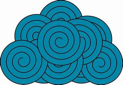 Cloud Vector Clipart Clip Textile Textiles Domain