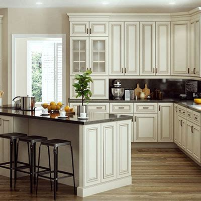 custom home plan kitchen cabinets at the home depot