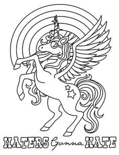 Image detail for -Unicorn coloring pages for kids