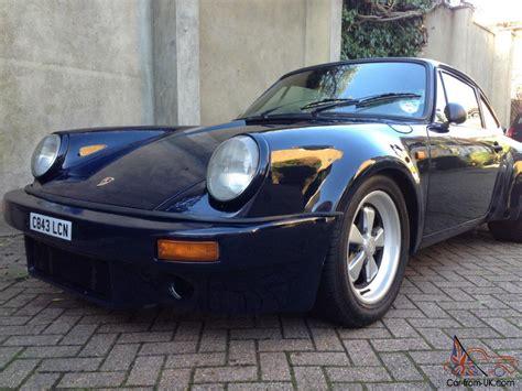 porsche 930 rsr 1985 porsche 911 turbo 930 turbo rsr look low miles a