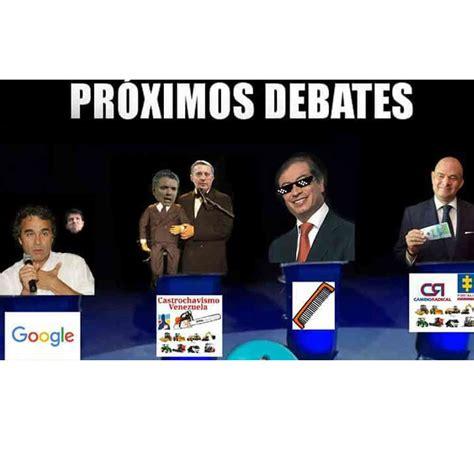 Memes Debate - imagenes debate caribe memes de petro vargas fajardo duque y de la calle