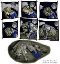 Anime Werewolf Transformation Sequence