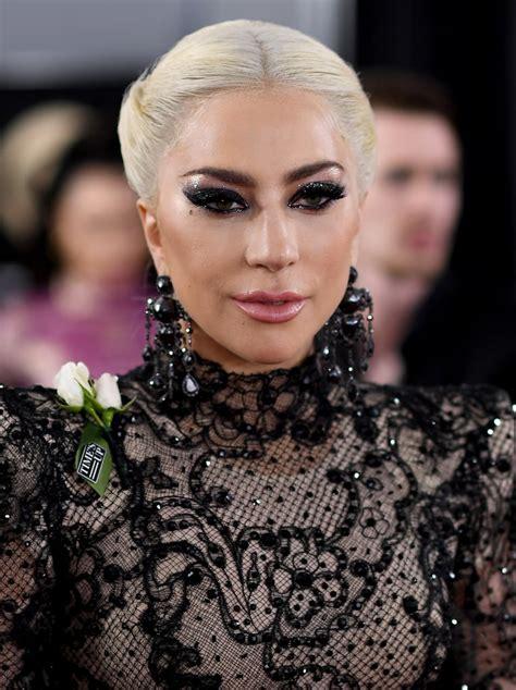 Lady Gaga at the 2018 Grammys   POPSUGAR Celebrity Photo 6
