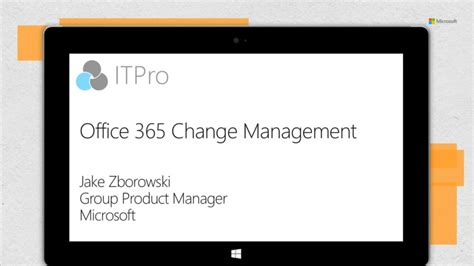 bureau of change office 365 change management sharepoint conference 2014
