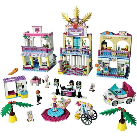 Lego Friends Heartlake Shopping Mall 1120pc(s) From Conradcom