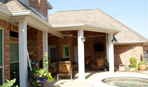 colleyville patio cover in woodland custom