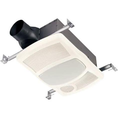 nutone bathroom fan light nutone 100 cfm ceiling exhaust bath fan with light and heater