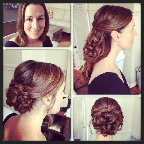 bridal hairstyle  extensions added