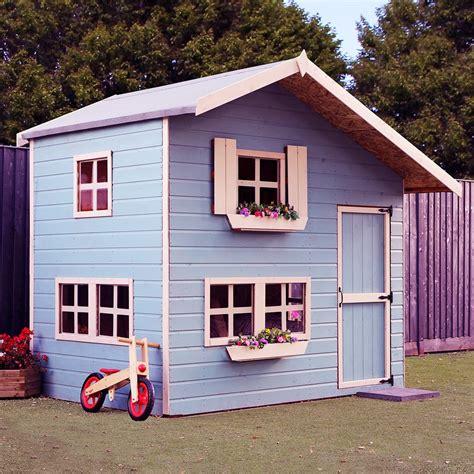 Mercia Double Storey Cottage Playhouse   8ft x 6ft   elbec