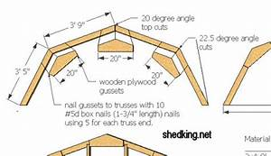 wood work gambrel roof truss pdf plans With barn style roof trusses