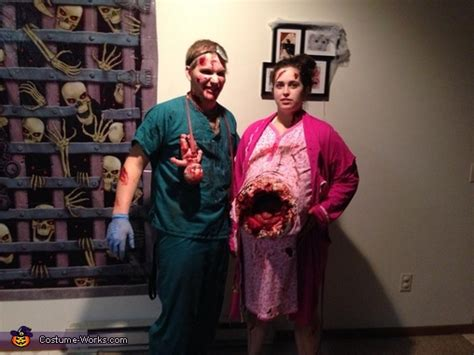 zombie couple costume   instructions
