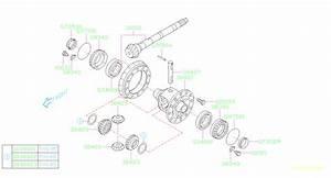 2013 Subaru Impreza Oil Seal  Oil Seal 35x50x9  Differential  Transmission  Driveline