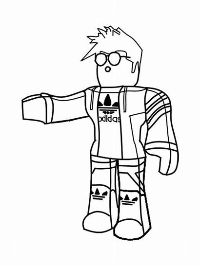 Roblox Coloring Pages Printable Boys