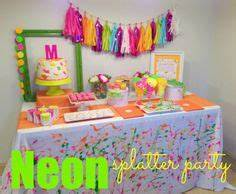 1000 images about Neon Splatter Party Ideas on Pinterest