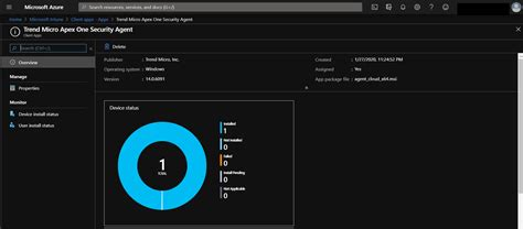 microsoft intune endpoint manager apex agent installation deployment package service msi center security admin preparing