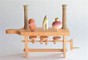 Whimsical Wooden Automata by Kazuaki Harada Spoon & Tamago