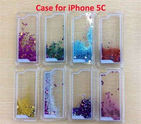 glitter cases for iphone 5c aliexpress buy 1pcs new glitter flowing