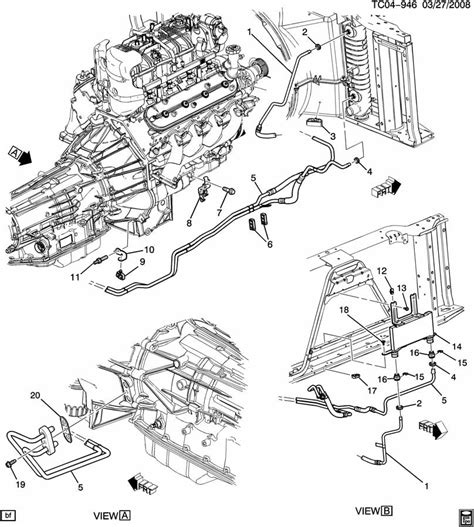 2000 Chevy Tahoe Transmission Diagram by Adding A Transmission Cooler W Oem Lines Chevy Truck