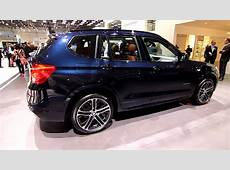 BMW X3 2011 with M Sport Package Geneva Motor Show 2011