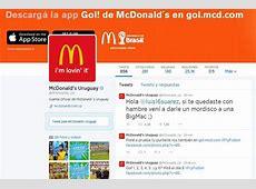McDonalds ironiza con el mordisco de Luis Suárez Mundial