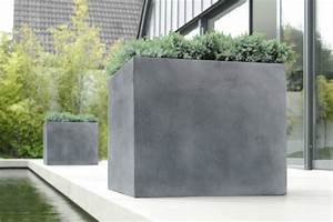 Pflanzkübel Beton Hoch : fiberglas pflanzk bel esteras lisburn bleifarben 37cm hoch ~ Whattoseeinmadrid.com Haus und Dekorationen