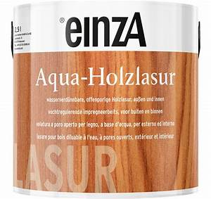 Holzlasur Für Innen : einza aqua holzlasur ~ Fotosdekora.club Haus und Dekorationen