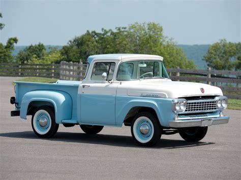ford   custom cab flareside pickup