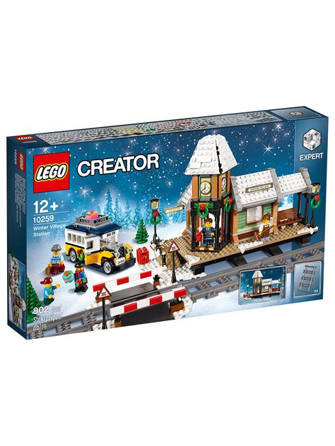 lego creator  winter village station  john lewis