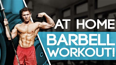 At Home FULL BODY Barbell Workout! (INSANE METABOLISM ...