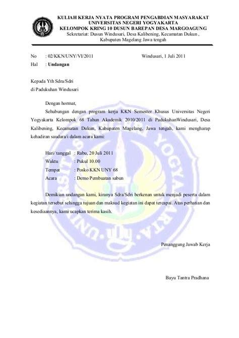surat undangan karang taruna