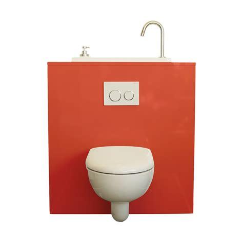 wc suspendu avec lave wici bati mod 232 le lipstick
