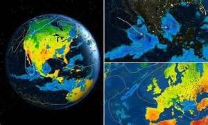 Watch the weather around the world LIVE on a 3D globe ...
